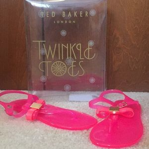 Bright pink Ted Baker sandals
